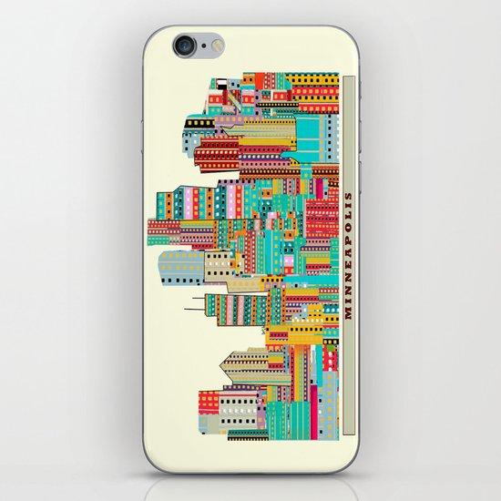 Minneapolis city  iPhone & iPod Skin