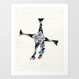 Hull-Down Art Print