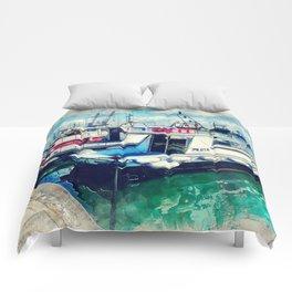 Trapani art 16 Sicily Comforters