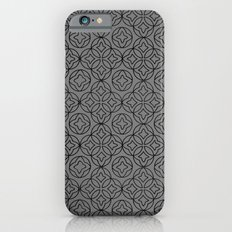 Ancient Pattern Illustration in Steel Gray iPhone 6s Slim Case