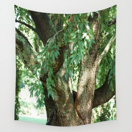 Summer Time Tree Wall Tapestry