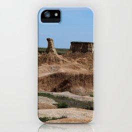 Badlands Rockformation iPhone Case