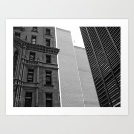 The Towers July 2001 Art Print