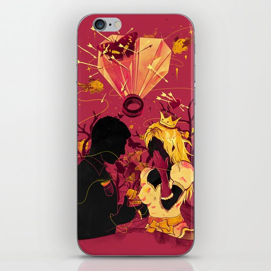 2 Hearts 2 Love iPhone & iPod Skin