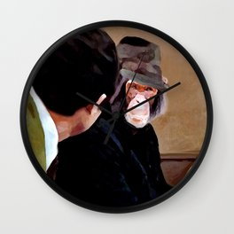 I know you somehow !? Wall Clock