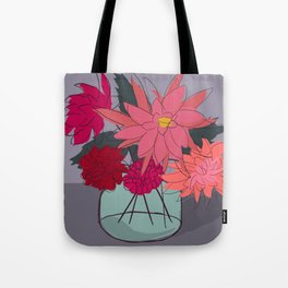 From the Garden IV Tote Bag