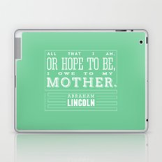 To My Mother Laptop & iPad Skin