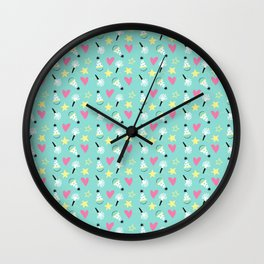 Party stars Wall Clock