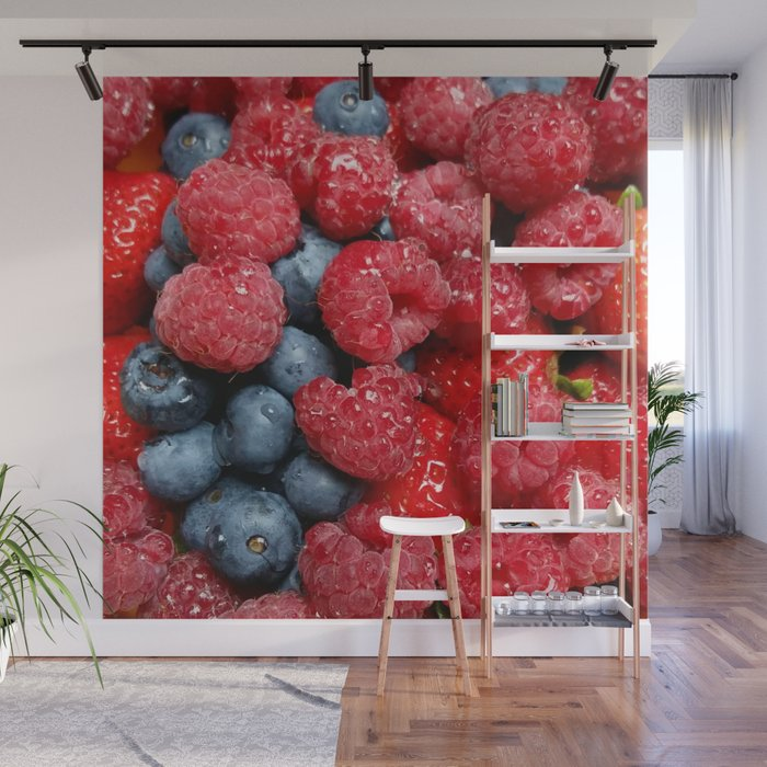 Berry Bonanza Wall Mural by Christine aka stine1