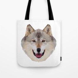 Geometrical Wolf Tote Bag