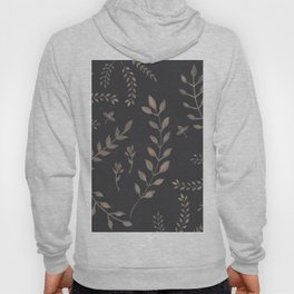 Light Sepia Leaves Pattern #1 #drawing #decor #art #society6 Hoody