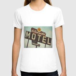 La Casa Del Sol Vintage Motel Sign T-shirt