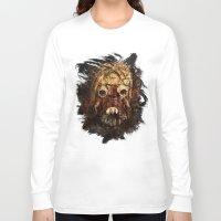 tomb raider Long Sleeve T-shirts featuring Tusken Raider by Sirenphotos