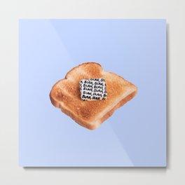 Minimal Food Mix Metal Print