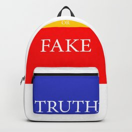 TRUTH or FAKE Backpack