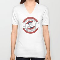 pride V-neck T-shirts featuring Pride by Shop 5