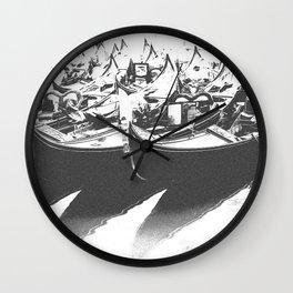 Gondole Wall Clock