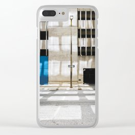 One Way - Exit Only Clear iPhone Case