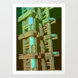 Mechanical 11 Art Print