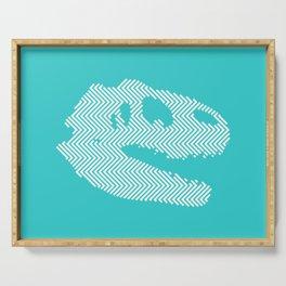 Tyrannosaurus Rex Skull Serving Tray
