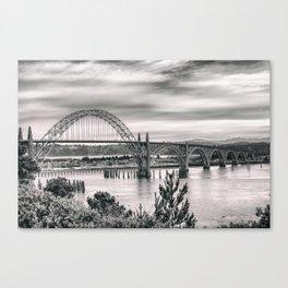 Yaquina Bay Bridge Canvas Print