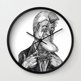 Chinny Boi Wall Clock