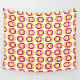 Motion rings Wall Tapestry