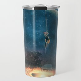 My dream house is in another galaxy Travel Mug
