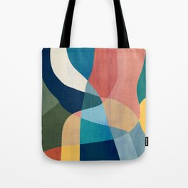 Waterfall and forest Tote Bag