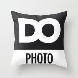 DO Photo Throw Pillow