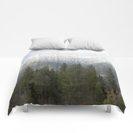 Fresh powdered snow... Comforters