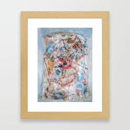 Super Death Framed Art Print