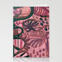 jungle Stationery Cards featuring Jungle by Akwaflorell