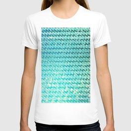 Mermaid Waves and Sea Foam, Sun Light over the Ocean T-shirt