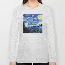 The Starry Night - Vincent van Gogh Long Sleeve T-shirt