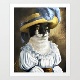 Xaby the Southern Belle Art Print
