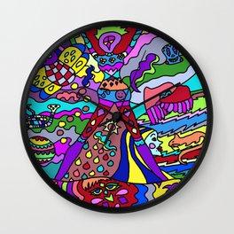 Abstract 12 Wall Clock