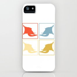 Sugar Glider Pop Art iPhone Case