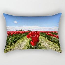 Tulip Town Rectangular Pillow