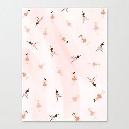 Ballerinas Canvas Print