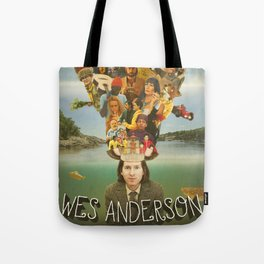The Mind of Wes Anderson Tote Bag