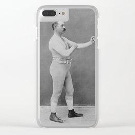 John L. Sullivan - Heavyweight Boxing Champion Clear iPhone Case