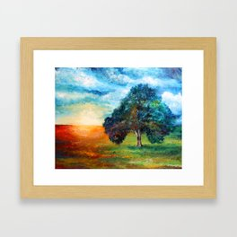 Self Portrait 3 - A New Day Framed Art Print