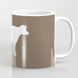 Cow: Brown Coffee Mug