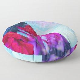 Hyperstimulation Blue - Detroit 0610 Floor Pillow