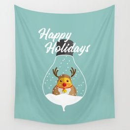 Merry Christmas Ducky Pt.2 Wall Tapestry