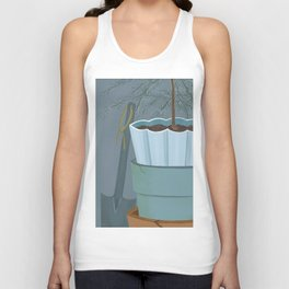 Potting shed Unisex Tank Top