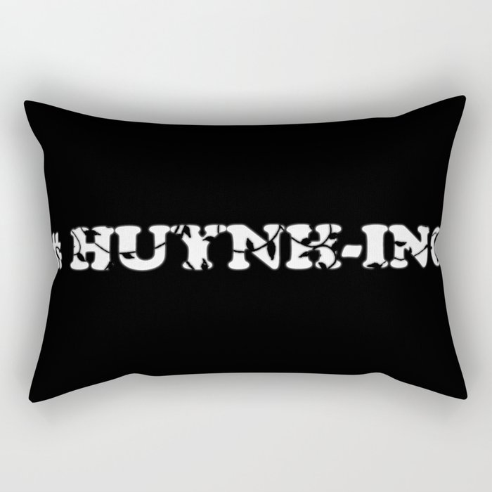#Huynh-ing (Inverted) Scattered Leaves Rectangular Pillow