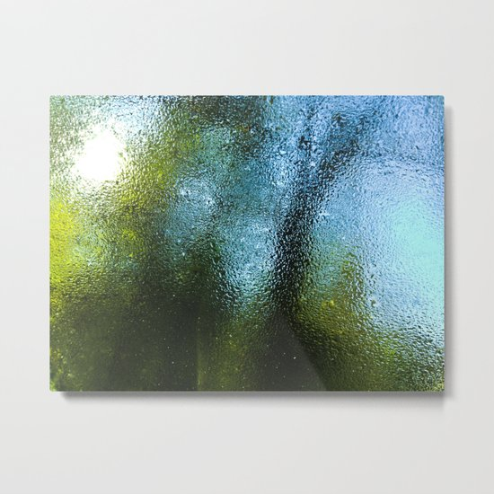Outside World Metal Print