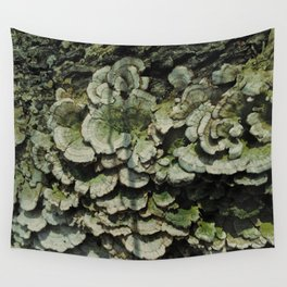 Forest Mushrooms Wall Tapestry